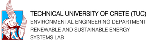 Technical University of Greece Environmental Engineering Dpt., Renewable and Sustainable Energy Systems Lab